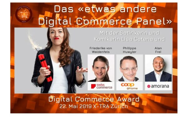 Das etwas andere Digital Commerce Panel mit Lisa Catena