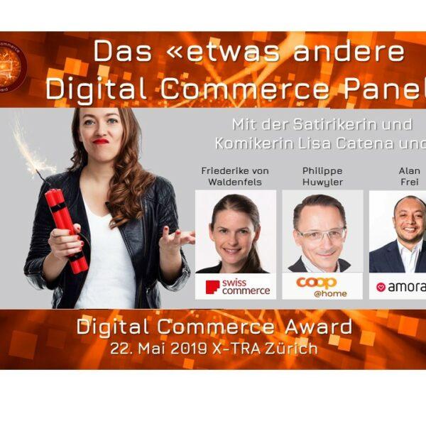 Das etwas andere Digital Commerce Panel mit Lisa Catena