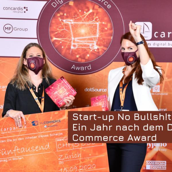 Nicole Blum Ein Jahr nach dem Digital Commerce Award